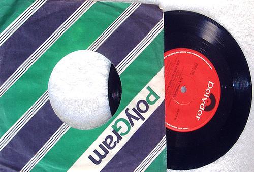 """Folk Pop - Jon English & Mario Millo Six Ribbons Vinyl 7"""" 1978"""