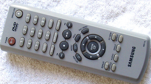 SAMSUNG DVD  Remote Control (ONLY) Model 00011A  (USED/TESTED/WORKING)