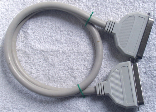 Generic External SCSI Cable  Centronics 50 to Centronics 50 (USED)