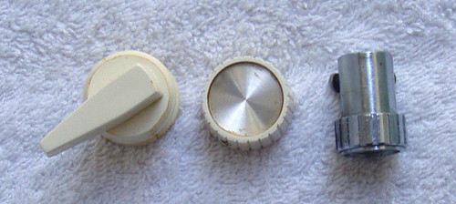 TITAN 8mm Film Projector PART - 3 User Knobs (As Pictured)