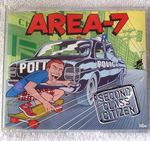 Australian Ska - Area 7 Second Class Citizen CD 2002