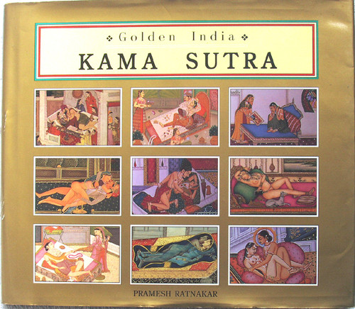 Hardcover Book - KAMA SUTRA Golden India (Explicit) 1996