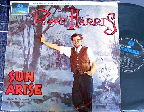 Childrens Pop Comedy - ROLF HARRIS  Sun Arise  Vinyl 1963