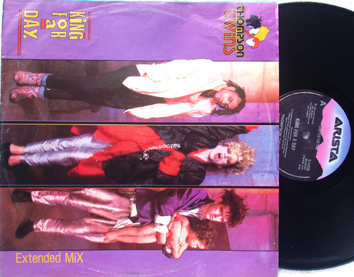"""Synth Pop - THOMPSON TWINS King For A Day  12"""" LTD Vinyl 1985"""