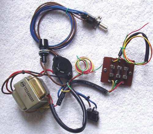 MARANTZ Cassette Deck Model: SD 1015  AC Power Components  SPARE PART