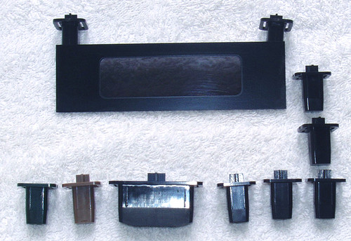 NAD CD Player Model: 5255  Complete Set Of Buttons/Window  SPARE PART