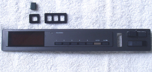 (1985) NAD 4155 AM/FM Tuner SPARE PART Front Panel Buttons etc...