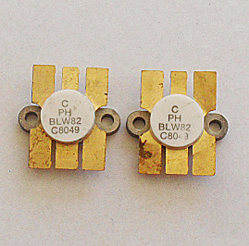 PHILIPS RF Power Transistor BLW82 (VHF 50W+ TO128)