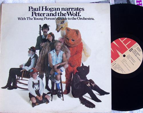 Childrens Tale - PETER & THE WOLF (Paul Hogan As Narrator) Vinyl 1976