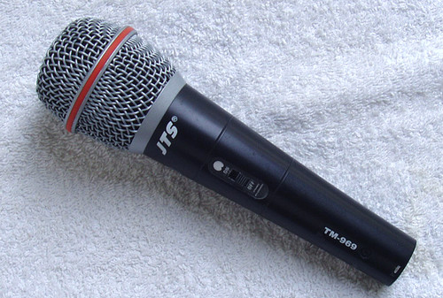 JTS  TM-969 Cardioid Dynamic Entry Level Vocal Microphone