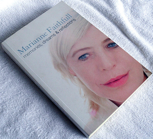 Music Book - MARIANNE FAITHFULL Memories Dreams & Reflections 2007