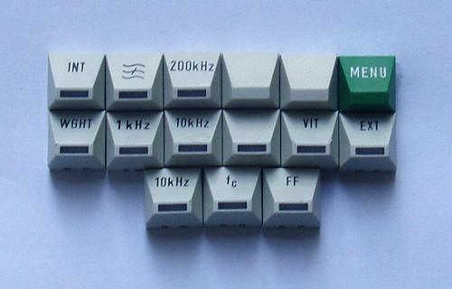 Test Equipment ROHDE & SCHWARZ UPSF2 Front Panel Button Caps