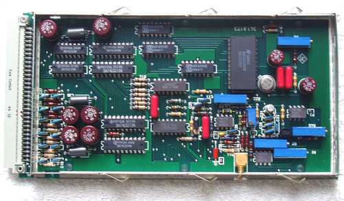 Broadcast Test Equipment ROHDE & SCHWARZ UPSF2 SPARE MODULE A/D Converter