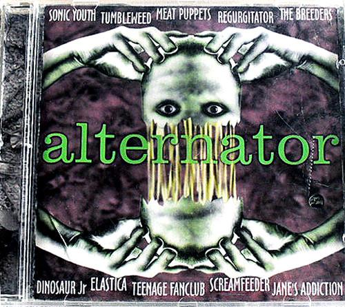 Alternative Rock - CRASH BANG RECORDS Alternator 1995 CD