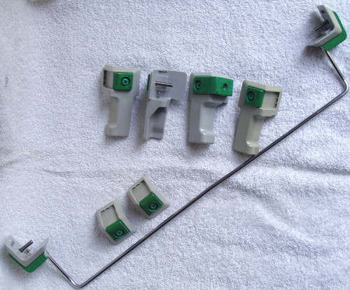 ANRITSU SPARE PART Complete Set Of 8x Corners/Feet With Support Rail