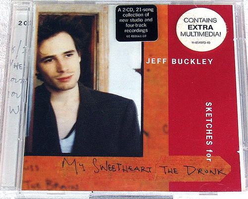 Alternative Rock - JEFF BUCKLEY Sketches For My Sweetheart The Drunk 2x CD (Europe) 1998