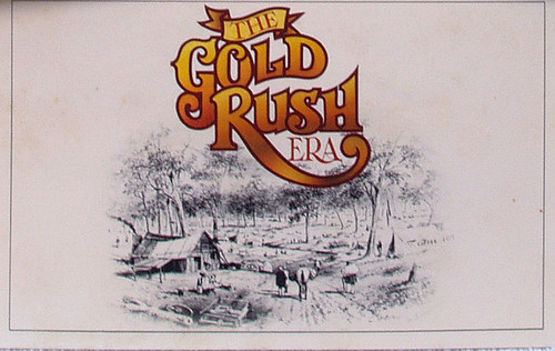 Late 1980's AUSTRALIA POST Stamp Pack The Gold Rush Era (Pack 78)