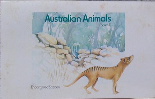 1980's AUSTRALIA POST Stamp Pack Australian Animals (Pack #81)