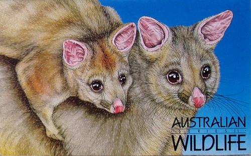 1980's AUSTRALIA POST Stamp Pack Australian Wildlife (Series II)