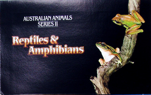 1980's AUSTRALIA POST Stamp Pack Reptiles (Pack #90)