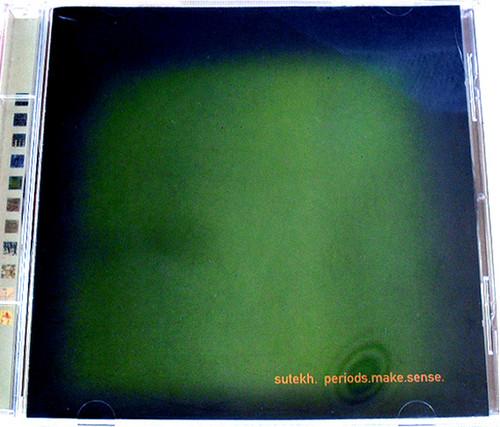 Techno Experimental - SUTEKH Periods Make Sense CD 2000
