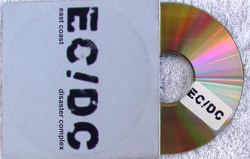 Deep House IDM - EAST COAST DISASTER COMPLEX (ECDC) Promotional CD (Card Sleeve) 2004
