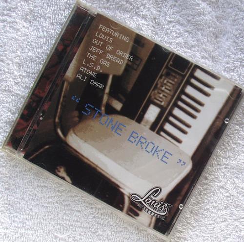 Techno Dub - LOUIS' RECORDS Stone Broke (Compilation) CD 2000