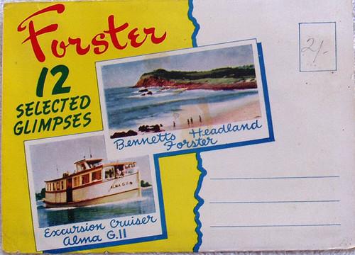 1950's FORSTER Scenic Postcard Pack (12x Scenes)