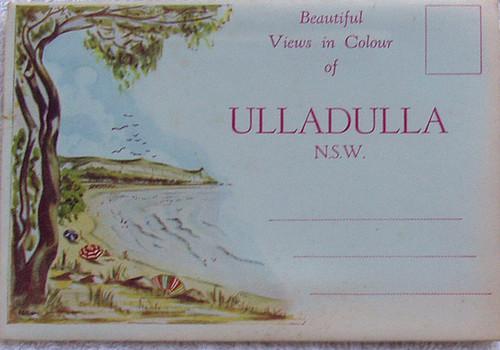 1950's ULLADULLA Scenic Postcard Pack (9x Scenes)
