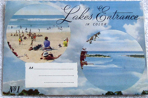 1960's LAKES ENTRANCE Scenic Postcard Pack (10x Scenes)