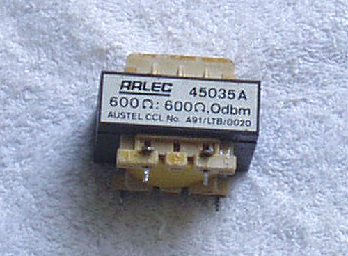 ARLEC 600:600 Audio PSTN Isolation Transformer