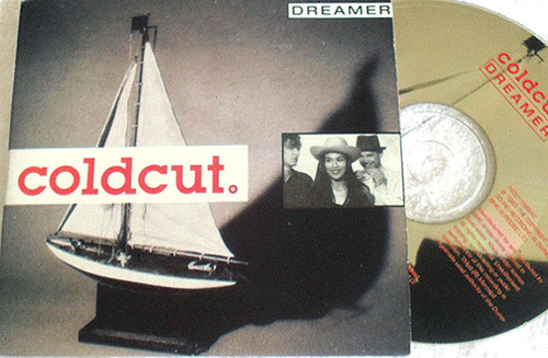Downtempo - COLDCUT Dreamer Maxi Single CD 1993