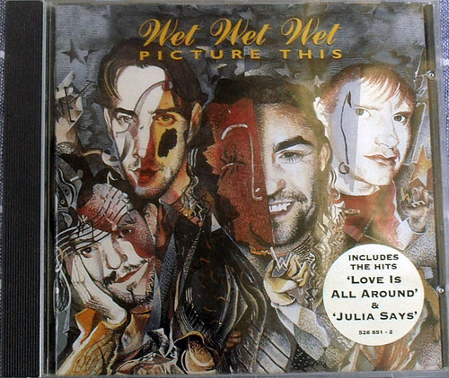 Synth Pop - WET WET WET Picture This CD 1995