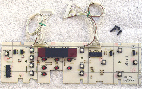 AUDIO TECHNICA CD Player Model: AT-CD20 (SPARE PART) Display & Switches Module