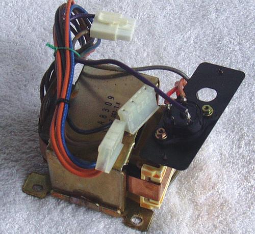 1983 YAMAHA Clavinova YP40 AC Transformer & Input Selector
