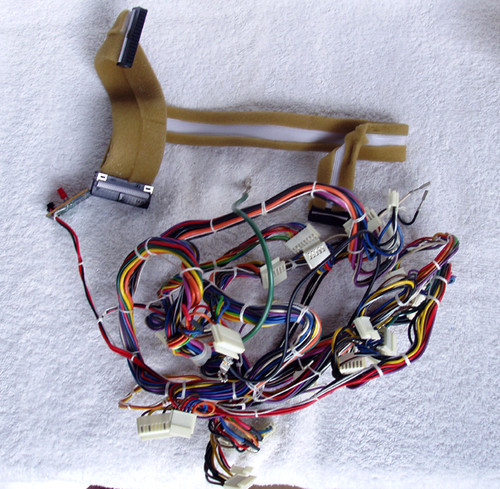 Vintage YAMAHA Electric Piano (YP40) Complete Wiring Loom