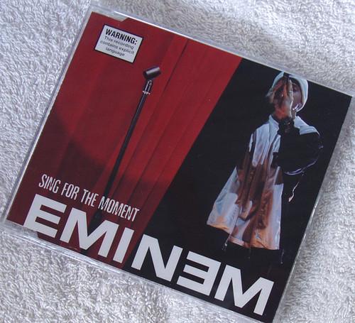 Hip Hop - EMINEM Sing For The Moment CD Single 2003