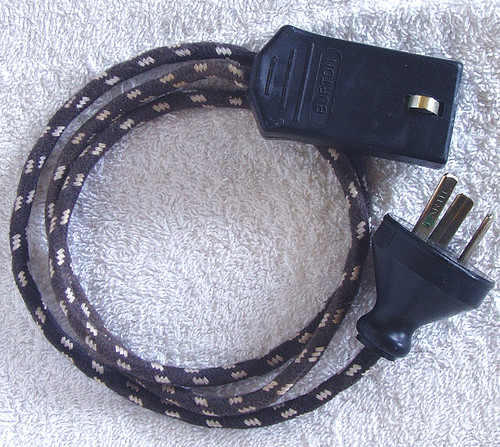 1970 - 80's BURTON Electric Jug Cord - Safe And Working!