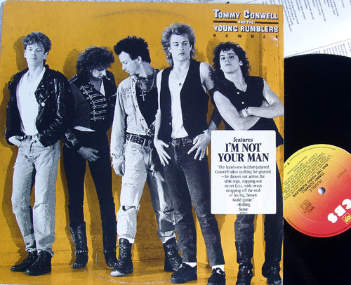Blues Rock - TOMMY CONWELL AND THE YOUNG RUMBLERS Rumble  Vinyl 1988