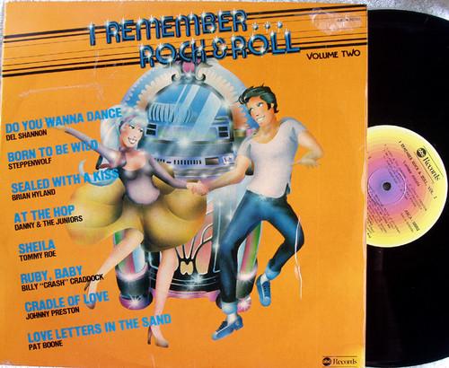 Pop Rock N Roll - I REMEMBER ROCK N ROLL Volume Two  Vinyl 1980's