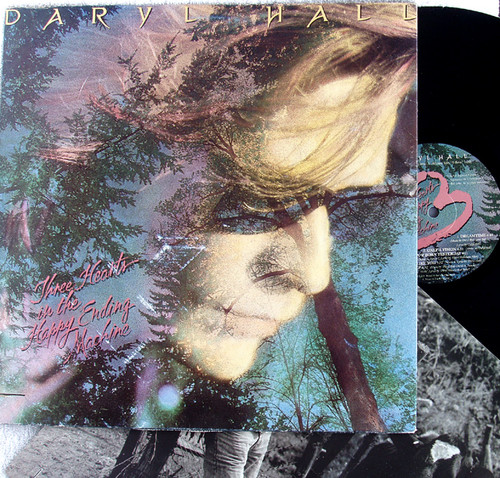 Funk Pop - DARYL HALL Three Hearts In The Happy Ending Machine Vinyl 1986