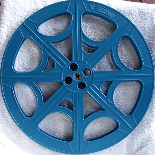 "TUSCAN (Made In Australia) 15"" 2200ft 16mm Film Reel EMPTY"