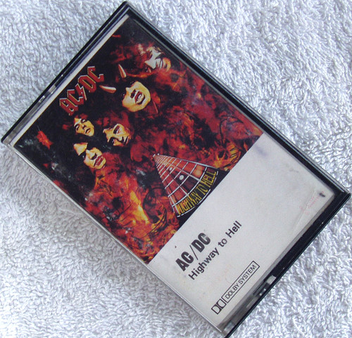 Hard Rock - AC/DC Highway To Hell Cassette 1979