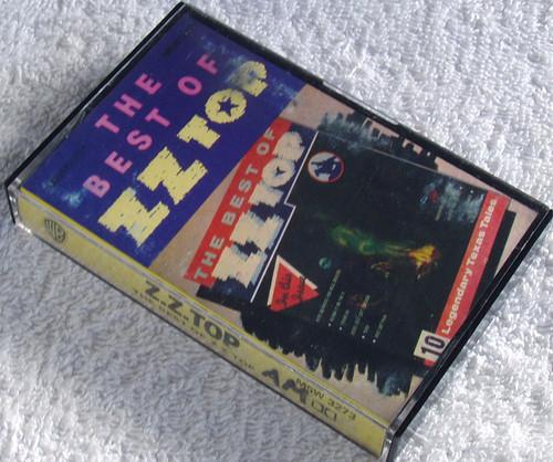 Blues Rock - ZZ TOP The Best Of ZZ Top Cassette 1977