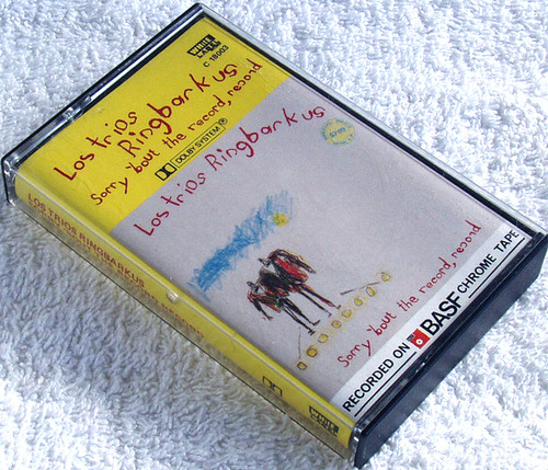 Stage Comedy Pop - LOS TRIOS RINGBARKUS Sorry 'Bout The Record Record  Cassette 1985
