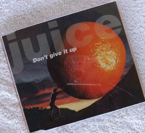 Australian Alternative Rock - JUICE Don't Give It Up CD Single 1993
