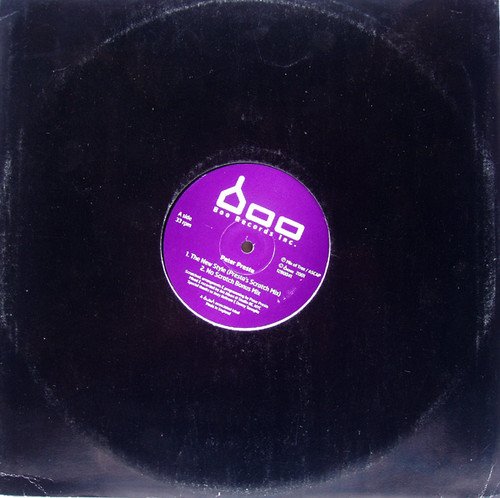 "Tech House - PETER PRESTA The New Style  12""  Vinyl 2001"