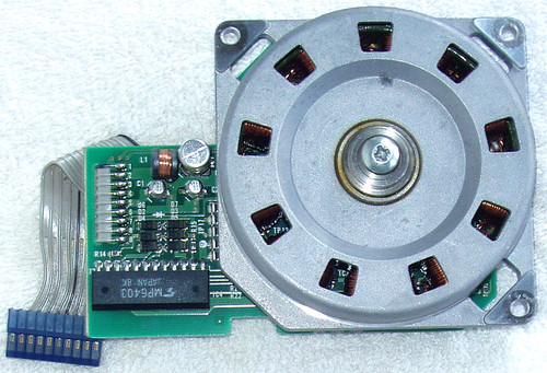3 PHASE 80mm MOTOR With Control Module (Copal/Toshiba) Robotics CNC 3D