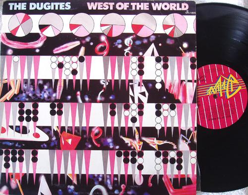 Alternative Rock  - THE DUGITES West Of The World  Vinyl 1981