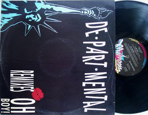 "Electro - DE-PART-MENTAL Oh Boy! Remixes 12"" Vinyl 1990"